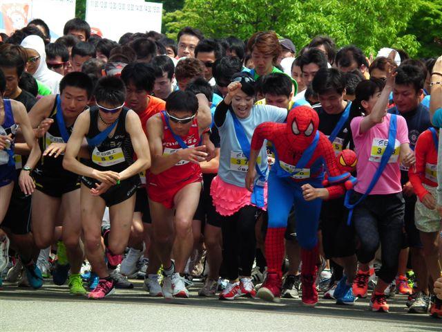 フルマラソン・スタート (1)