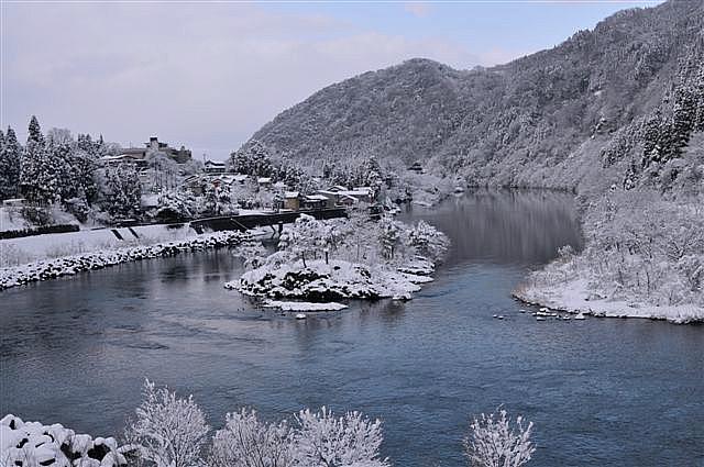 庄川峡 船の旅 (6)