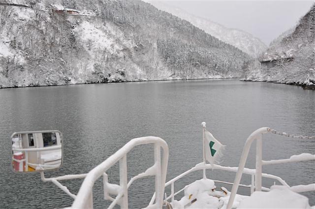 庄川峡 船の旅 (15)