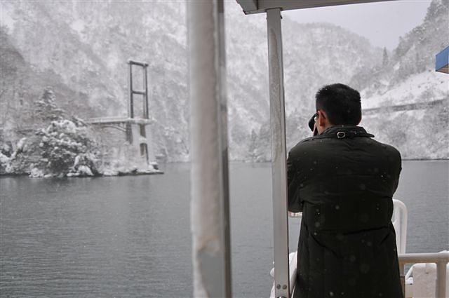 庄川峡 船の旅 (17)