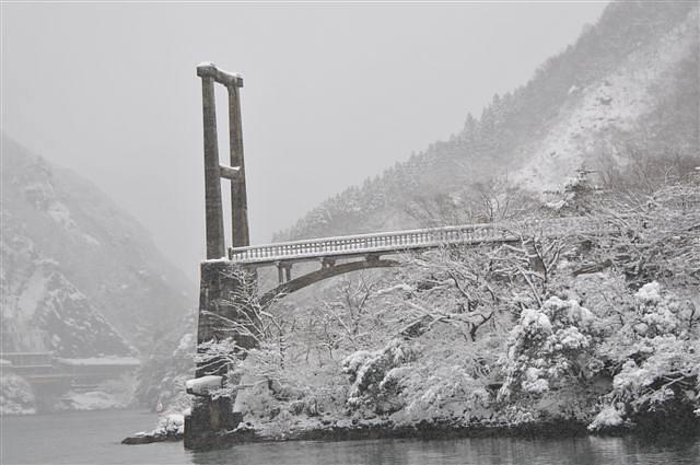 庄川峡 船の旅 (18)
