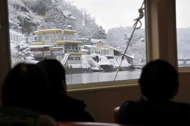 庄川峡 船の旅 (33)