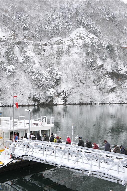 庄川峡 船の旅 (40)