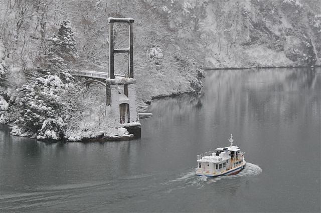 庄川峡 船の旅 (42)
