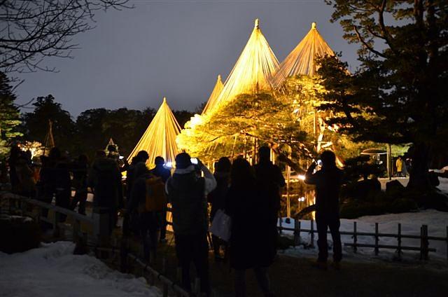 金沢城・兼六園ライトアップ ~冬の段~ (3)