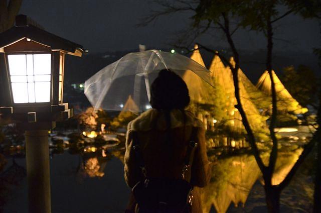金沢城・兼六園ライトアップ ~冬の段~ (9)