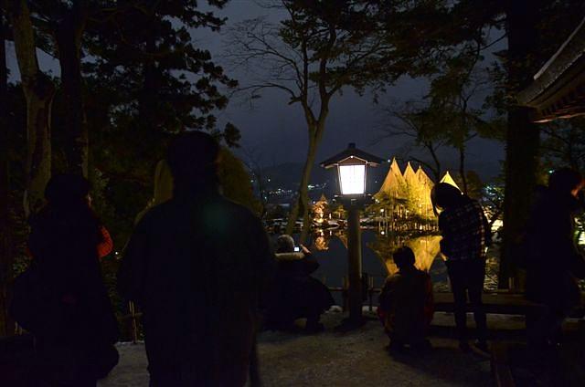 金沢城・兼六園ライトアップ ~冬の段~ (10)