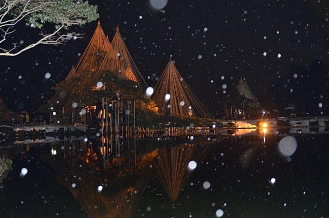 金沢城・兼六園ライトアップ ~冬の段~ (12)