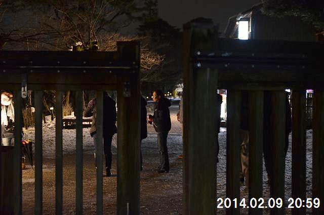 金沢城・兼六園ライトアップ ~冬の段~ (14)
