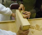 箱作り体験