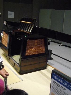 江戸東京博物館 大名の駕籠
