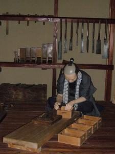 江戸東京博物館 箪笥職人