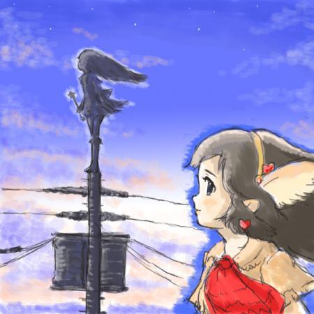 冬の魔法少女