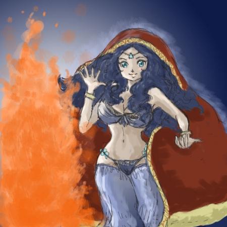 炎の踊り子
