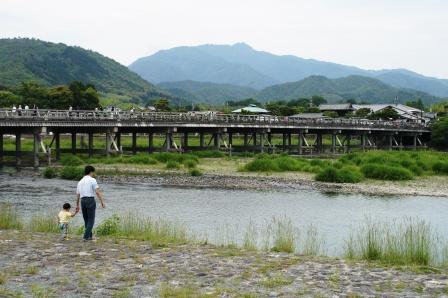 嵯峨野嵐山渡月橋