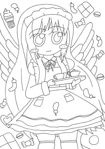 いただきますの天使・下書き