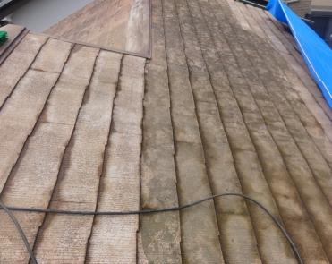 屋根塗装工事AAA-5-洗浄 20140404