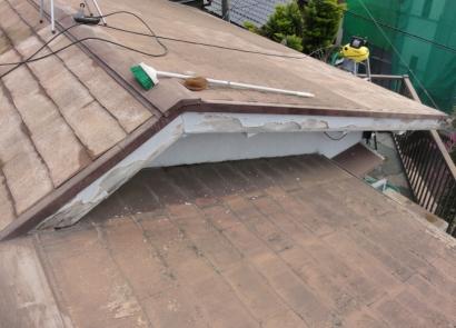 屋根塗装工事-AAA4-洗浄 20140404