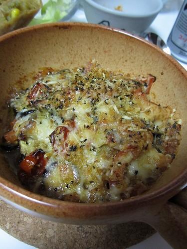 20110914茄子とトマトのオレガノ焼き③