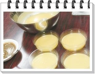 石鹸教室(体験コース・4人分)制作中の画像☆