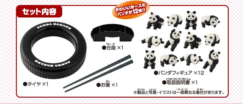 パンダだらけ