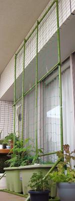 プランター用グリーンフェンス