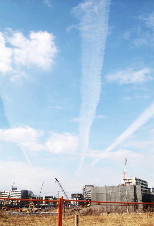 飛行機雲0102-3