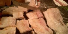ハサミ入れ肉
