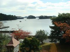 ございんや 旬 牡蛎庵 窓からの景色