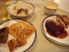 プリンスホテル 夕食③