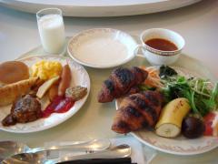 プリンスホテル 朝食