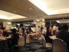 プリンスホテル 夕食会場②