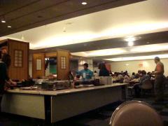 プリンスホテル 夕食会場③