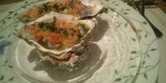クレール 牡蠣 甘い・酸っぱいソース