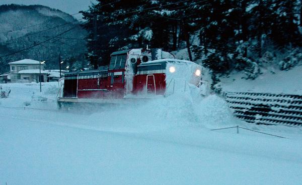 JR除雪車