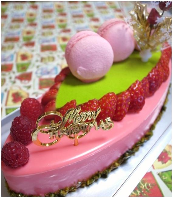 アスタリスクのクリスマスケーキ