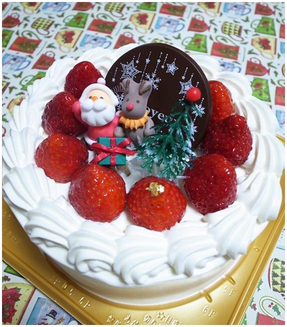 クリスマスケーキ苺ショート
