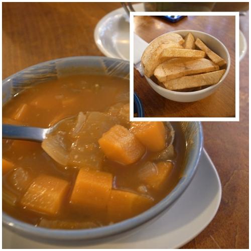 スープ、ポテト
