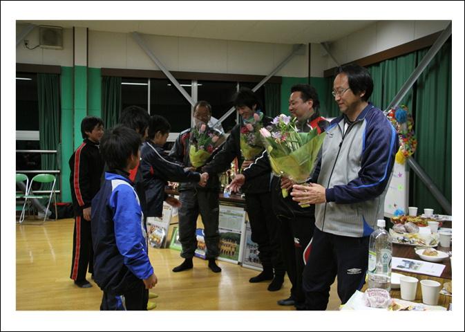 平成24年度卒団式3