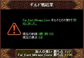 03.18 Mirage②[結果]