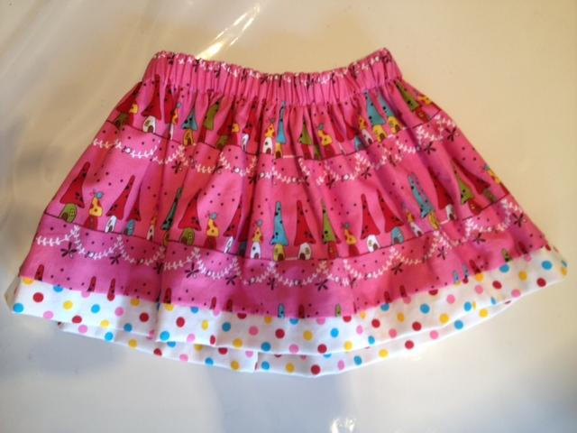 リバーシブルキノコハウス×ドットスカート5