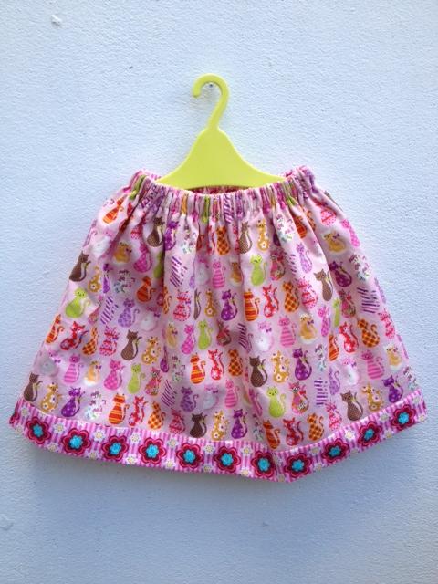 オーダーリバーシブルスカート1