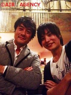 岡本さんと2ショット