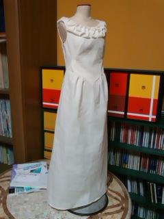 シンプルなドレス。