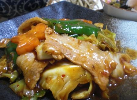 回鍋肉(B)