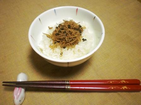 ちりめん山椒ご飯2