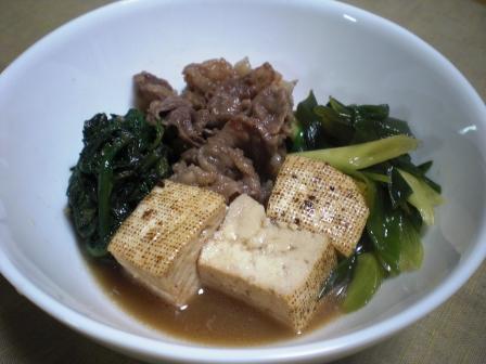 肉豆腐(B)
