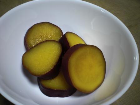 さつまいものレモン煮(B)
