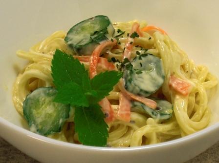 スパゲティサラダ0628