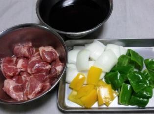 酢豚 材料